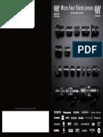 Micro Four Thirds Lens Catalog 2016