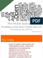 Realtime Mobile Web v02