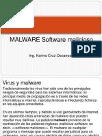 Clase 16 MALWARE Software Malicioso