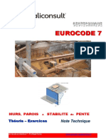 Exercices de Géotechnique EUROCODE 7 Murs parois et stabilité de pente.pdf