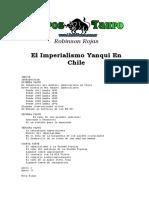 Rojas, Robinson - El Imprialismo Yanqui en Chile