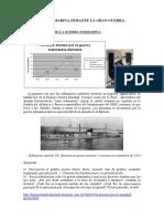 La Guerra Submarina Durante La Gran Guerra. Actividades