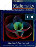 Finite Mathematics for Business and the Social and Life Sciences