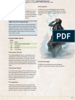 Excerpt - 5e Divination Magic Sorcerer