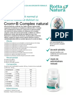 Crom+B Complex Natural
