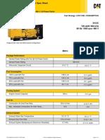 3412C 725 ekW/ 906 kVA/ 60 Hz/ 1800 rpm/ 480 V/ 0.8 Power Factor