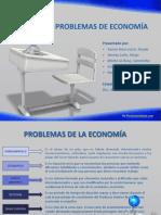 problemas de economía
