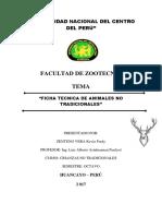 Ficha Tecnica - Animales No Tradicionales Zenteno Vera Kevin