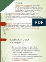 Extincion de La Propiedad Diapositiva [Autoguardado]