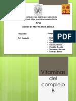 Vitaminas b Definitivo