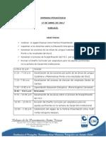 3-Jornada Pedagogica Dia E- Abril17