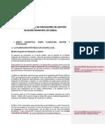 Borrador Manual de Indicadores de Gestión Alcaldía de Zarzal