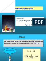 Estadistica Descirptiva