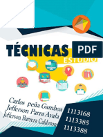 TECNICAS DE ESTUDIO - CARTILLA