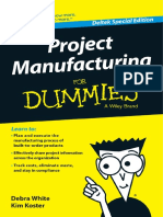 Project Manufacturing for Dummies DELTEK 2016