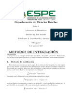 Resolucion de 6 Integrales