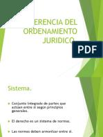 Coherencia Del Ordenamiento Juridico