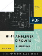 HiFi Amplifier Circuits (2nd Edition) (Philips Technical Library) - E. Rodenhuis (1965)