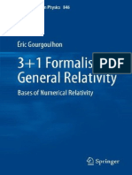 3+1 Formalism in General Relativity [Gourgoulhon]
