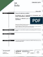 Norma UNE-En 12171-Sistemas de Calefaccion en Edificios