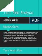 tech plan analysis