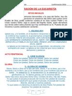 Actaul Folleto de Confirmacion Modo Libro 2016 6
