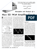 Description & Analysis of a New 50-Watt Amplifier Circuit - Frank H. McIntosh, Gordon J. Gow (Audio Engineering, Dec 1949)