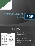 Copia de Determinación de La Glicemia