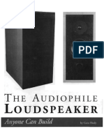 The Audiophile Loudspeaker Anyone Can Build (Gene Healy)