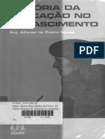 Ruy Nunes - História da Educação no Renascimento - 1980.pdf