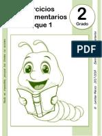 2do Grado - Bloque 1 - ARREGALDO