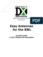 Easy Antennas for the SWL