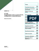s7300 Cp 341 Manual Es-ES