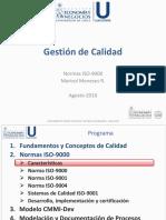 UChile - Gestion de Calidad - 02 Normas ISO-9000