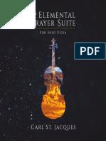 The Elemental Prayer Suite Carl St Jacques Digital Booklet
