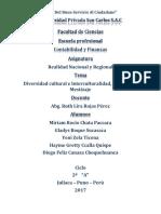 Diversidad Cultural e Interculturalidad Ednizidad y Mestizaje Diego