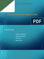 Arquitecturas de Los Sistemas de Automatización de Subestaciones