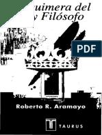 Aramayo Roberto R - La Quimera Del Rey Filosofo ( Scan).pdf