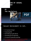 Sexual Harassment-At work Place~NIRC~11Apr2016