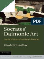 Socrates' Daimonic Art - Belfiore.pdf