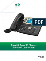 Yealink SIP-T29G User Guide