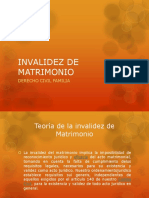 Diapositivas de Invalidez de Matrimonio (1)