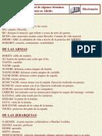 diccionario japonés-español de aikido