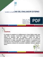 Presentacion Competencias Del Evaluador Externo