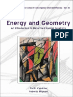2997.Energy and Geometry. an Introduction to Deformed Special Relativity by Fabio Cardone