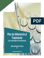 Plan de Adherencia
