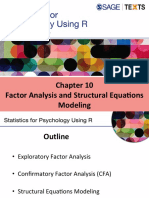 Factor Analysis and Structural Equations Modelling