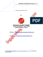 Singapore Business Communication Sample1506504132-818078