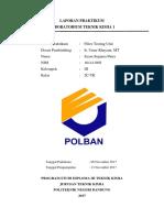 Laporan Praktikum Labtek I FTU Syam Sugama Putra 161411092 Kel 3 2C-TK