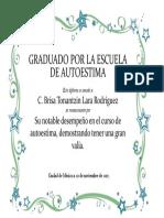 Diploma Autoestima